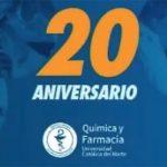 Celebran 20 años de la carrera de Química y Farmacia