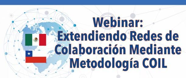 """CIMET invita a participar del Webinar """"Extendiendo Redes de Colaboración Mediante Metodología COIL"""""""