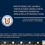 Profesor de Derecho Antofagasta expuso en curso de universidad italiana