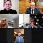 Embajada de Estados Unidos y UCN refuerzan vínculos en encuentro virtual